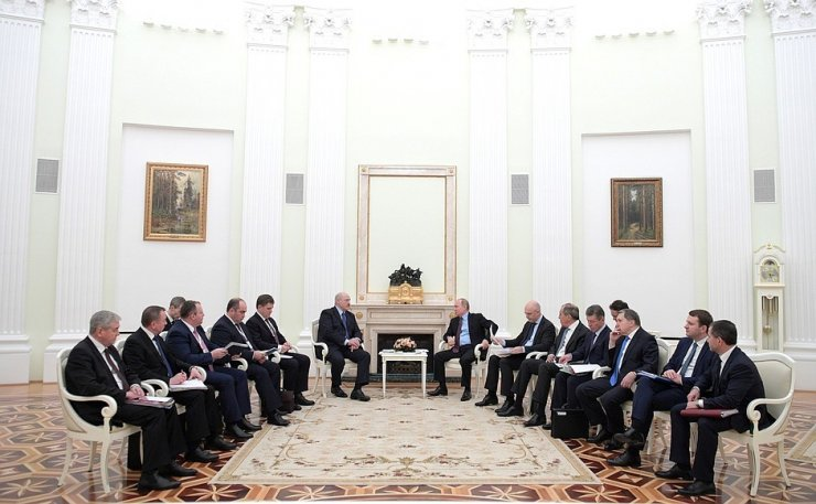 Putin ve Lukaşenko arasında 4 saatlik petrol pazarlığı