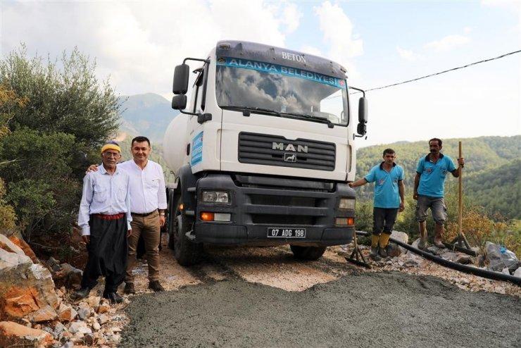 Alanya'da Mobil Beton Santrali hizmetin akışını değiştirdi