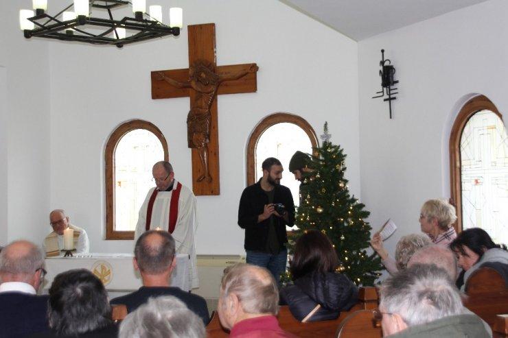 Antalya Dinler Bahçesi'nde Noel ayini
