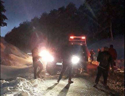 Kazdağları'nda buzlanma kazaya neden oldu: 10 yaralı