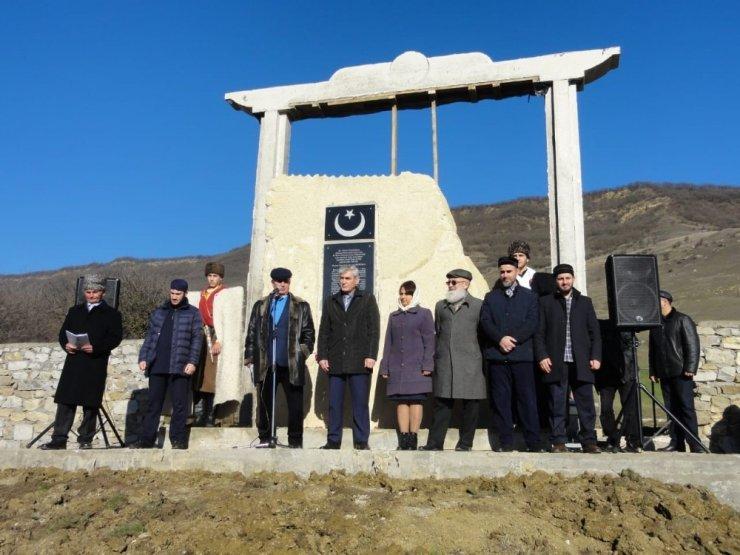 Dağıstan'da şehit Osmanlı askerleri için anıt dikildi