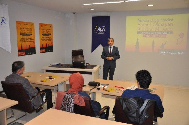 DİKA'dan Kültürel Miras Eğitimi
