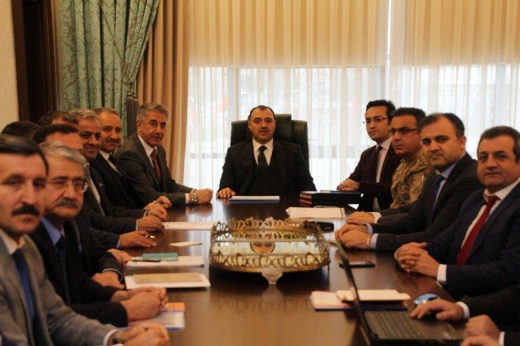Elazığ'da kış tedbirleri toplantısı yapıldı