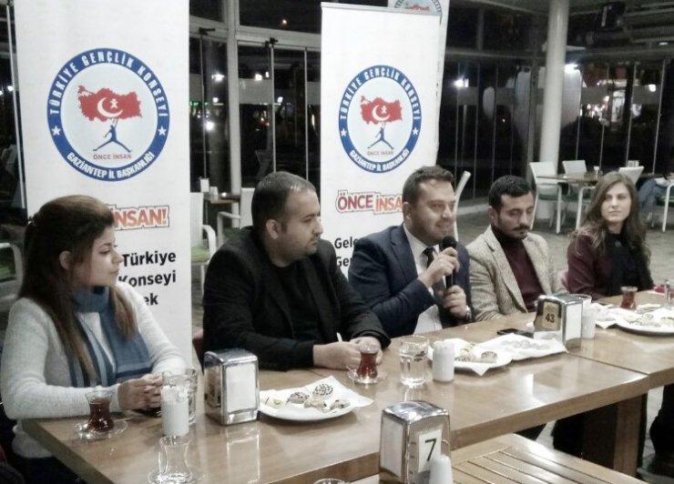 İbrahim Yetkinşekerci, girişimci adayları ile bir araya geldi