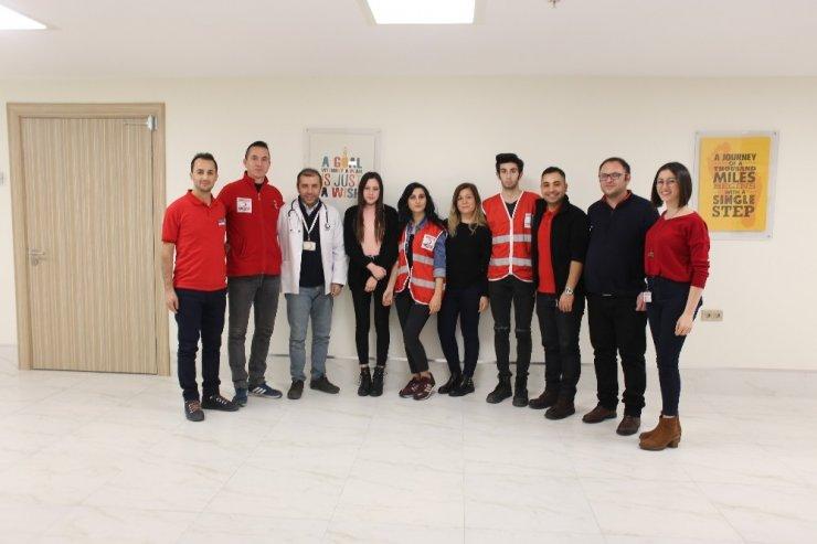 İzmir Kavram MYO'da kan bağışı
