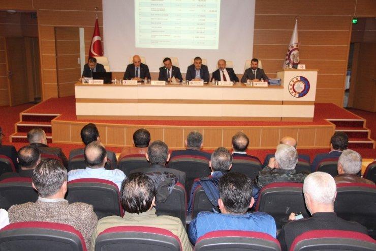 MTSO 2018 yılının son meclis toplantısını yaptı