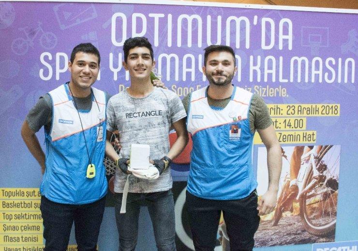 Optimum'da Spor Festivali