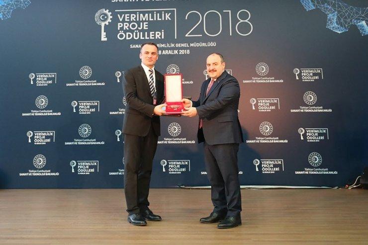 Vestel'e Verimlilik Ödülü