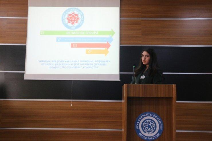 CÜ Vakfı Okulları'nda öğrencilere verimli ders çalışma yöntemleri anlatıldı