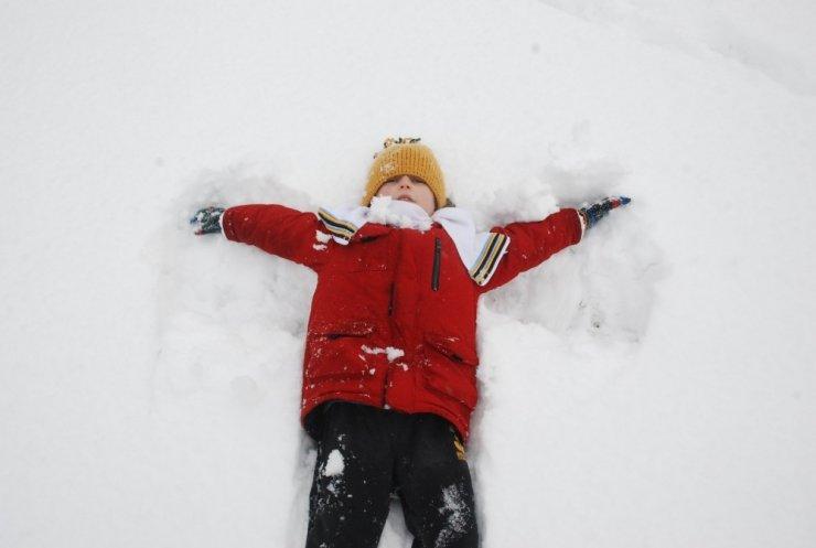 Kar yağmasına en çok onlar sevindi