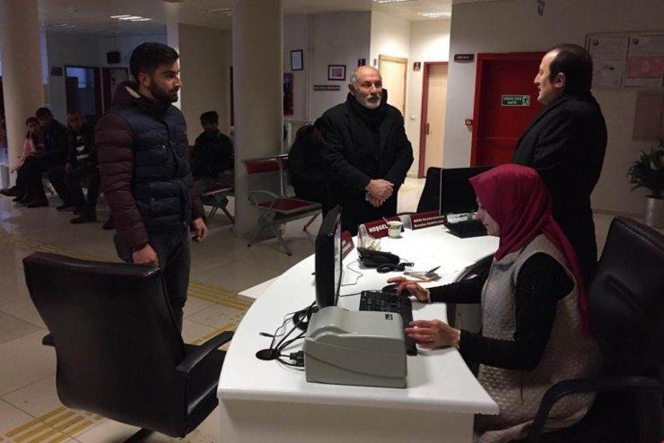 Vali Ali Hamza Pehlivan Ağız ve Diş Sağlığı Merkezi'nde denetlemelerde bulundu