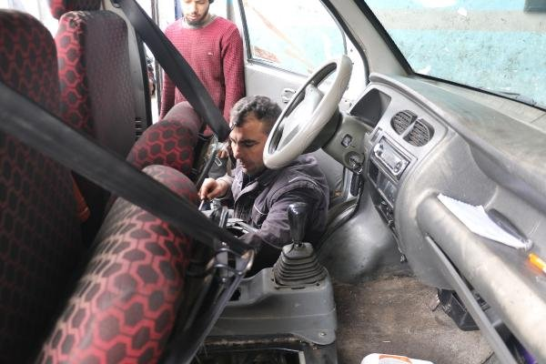 Benzin yerine mazot koyulan aracının bozulduğu iddiasıyla şikayetçi oldu