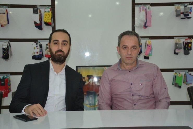 Sinop'tan dünyaya çorap ihracatı