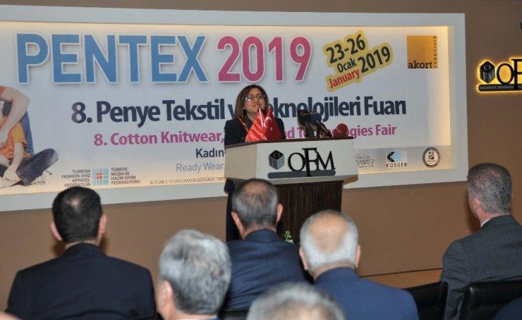 8. Pentex fuarı açıldı