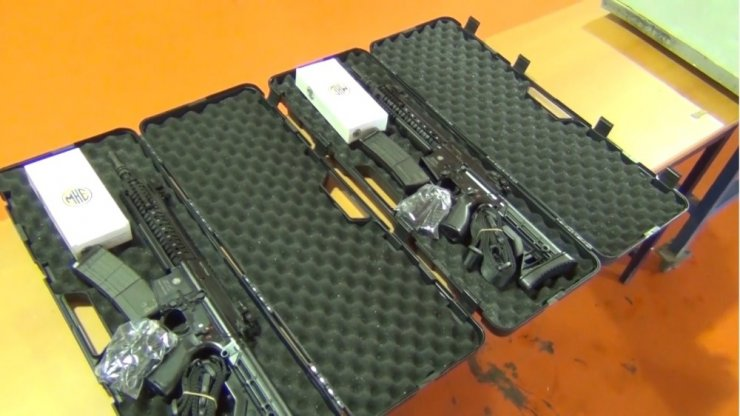 2019 yılının ilk silahları TSK'ya