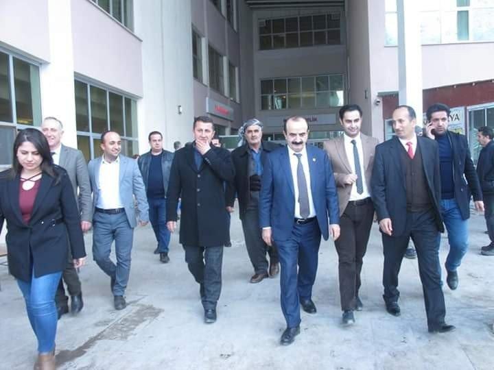 Milletvekili Husret Dinç'ten Şemdinli Devlet Hastanesine ziyaret