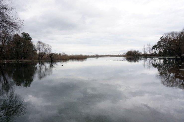 Kırkgöz Gölü'nde yağış bereketi