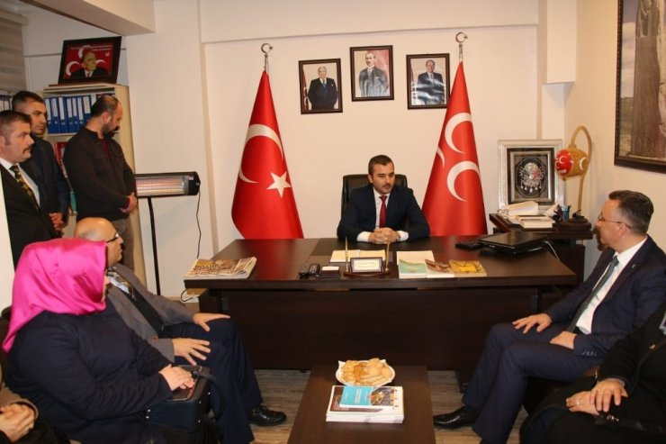 Cumhur İttifakı'nın Adayı Mutlu Işıksu MHP'yi ziyaret etti