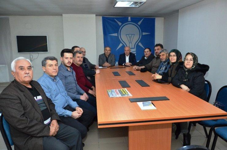 Başkan Bahçavan'dan MHP ve AK Parti Teşkilatlarına Ziyaret