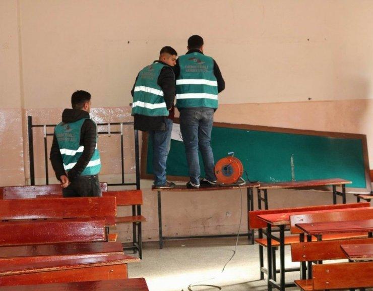 Yükümlüler, kamu hizmet yükümlülüğünü okullarda yerine getiriyor