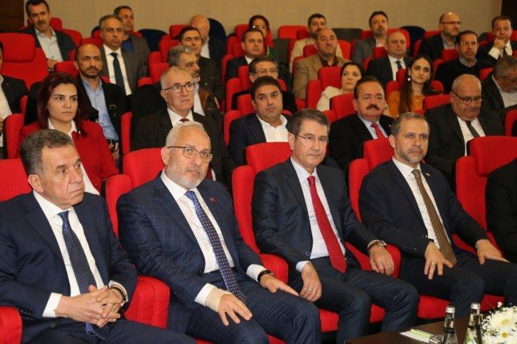 """AK Parti'li Canikli: """"Hiçbir firmamızın kapanmasına izin vermeyeceğiz"""""""