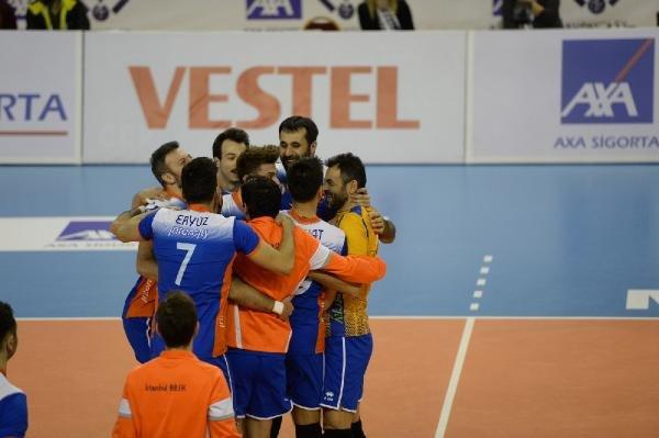 Galatasaray - Tokat Belediye Plevne: 3-1