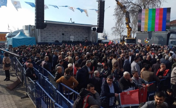 Tekirdağ Cumhurbaşkanı Erdoğan'a hazır