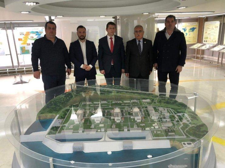 Düzce bilim ve teknoloji komisyonu Mersin'de incelemelerde bulundu