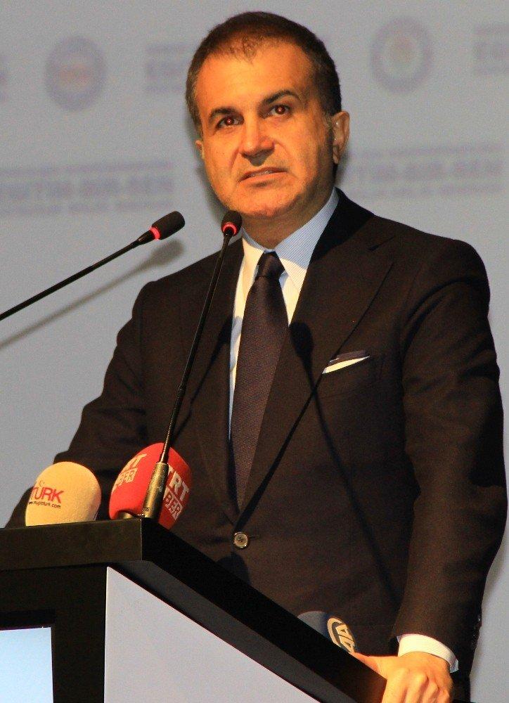 """AK Parti Sözcüsü Ömer Çelik: """"Aşırı sağ Avrupa'yı kuşattı"""""""