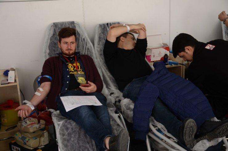 Vosvos sahiplerinden kan bağışı seferberliği ile ilgili görsel sonucu