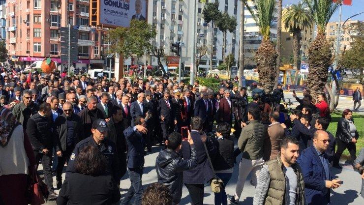Atatürk'ün Mersin'e Gelişinin 96. Yıldönümü Coşkuyla Kutlandı ile ilgili görsel sonucu