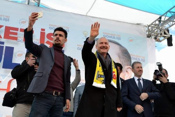 Bakan Soylu'dan Eruh'ta HDP'ye tepki: Bunlar PKK'ya, Kandil'e tapmışlar