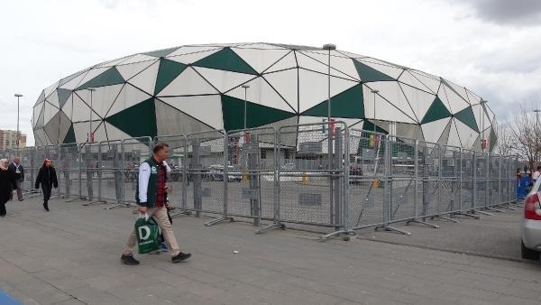 Konya Büyükşehir Stadyumu'nda bombalı eylem için keşif yapmışlar!