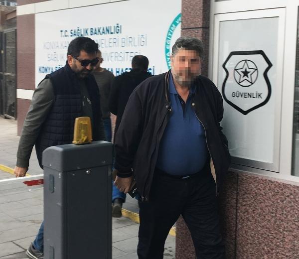 Konya'da yola düşen elektrikli bisikletliyiezdiği önesürülensürücü yakalandı
