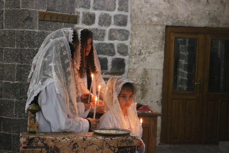 Diyarbakır'da Paskalya kutlandı