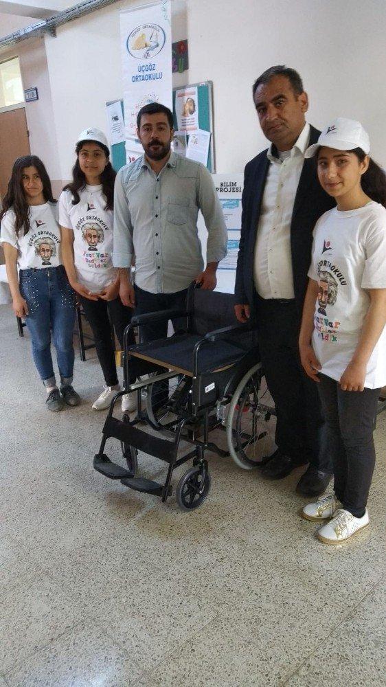 Besni'de yükselen tekerlekli sandalye projesi