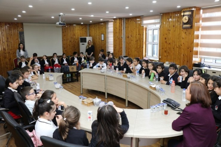 Başkan Köse, öğrencilerin sorularını cevapladı