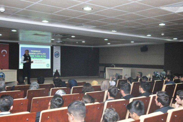 KMÜ'de organik tarımın faydaları anlatıldı