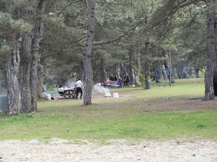 Küçükelmalı Tabiat Parkı'na ziyaretçi akını