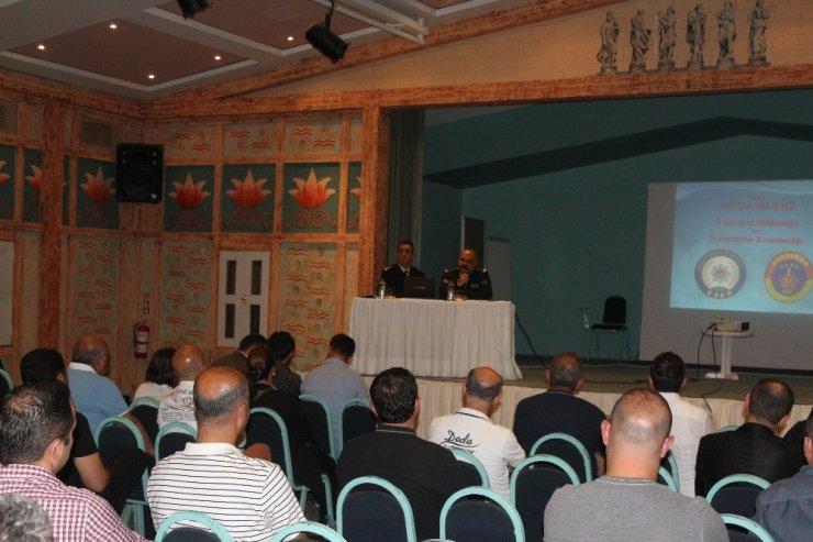 Marmaris'te 'Turizm Güvenlik Tedbiri Semineri' düzenlendi