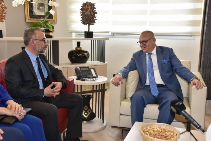 MHP İl Yönetimi'nden Başkan Ergün'e ziyaret
