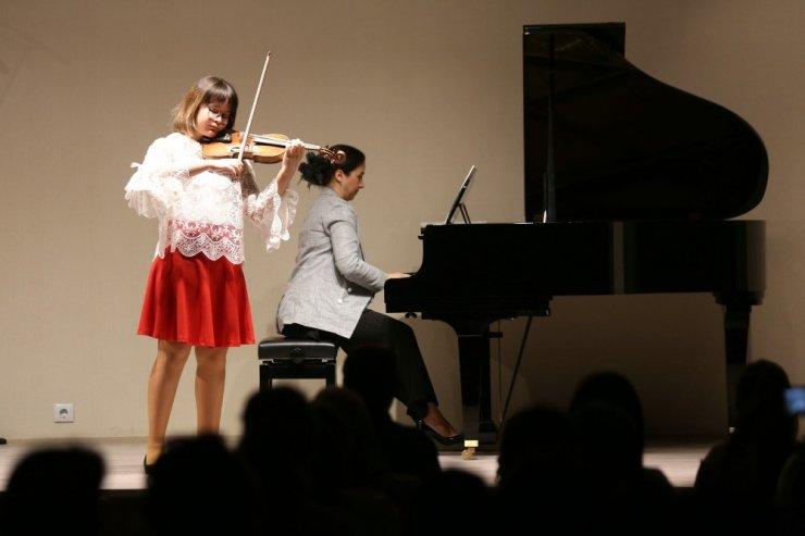 Oda Müziği Konserinde sahne bu kez çocukların