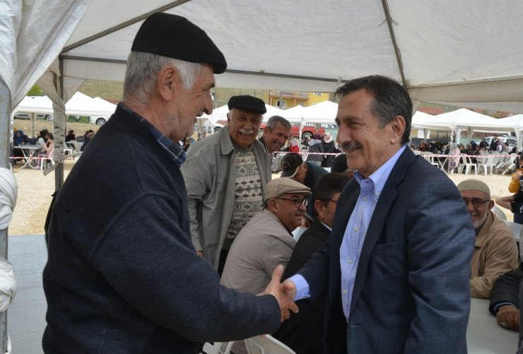 Başkan Ataç 'Yağmur dualarına' katıldı