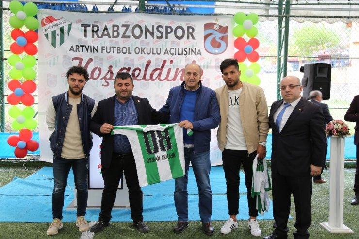 Artvin'de Trabzonspor Futbol Okulu açıldı