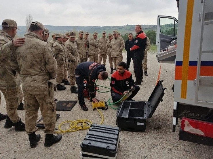 AFAD'dan jandarma personeline eğitim