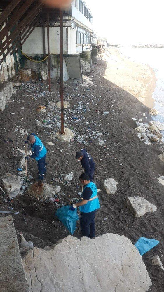 Akçakoca'da sahiller yaza hazırlanıyor