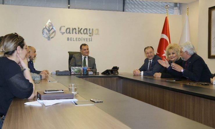 Çankaya Belediye Başkanı Taşdelen STK'larla buluştu