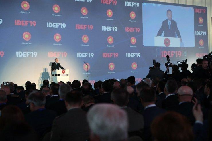"""Cumhurbaşkanı Erdoğan: """"Türkiye'nin dışlandığın bir F 35 projesi tamamen çökmeye mahkumdur"""""""