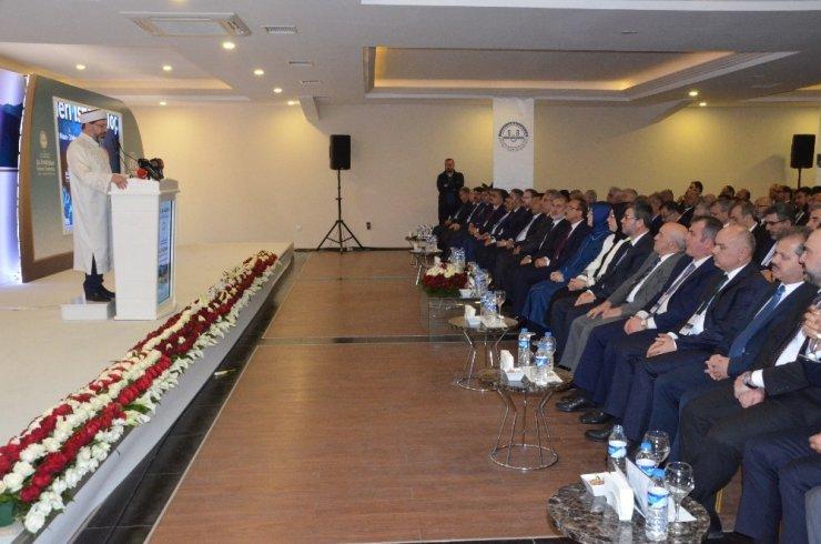 """Diyanet İşleri Başkanı Erbaş: """"Zekatın, diğer ibadetlerden ayırt edilmemesi gerekiyor"""""""