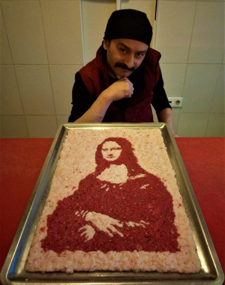 Leonardo da Vinci'nin Mona Lisa'sını bir de böyle görün